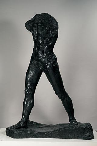 'El hombre que camina' de Rodin
