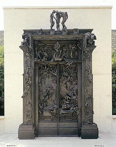 'Las puertas del infierno' de Rodin