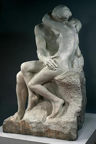 'El beso' de Rodin