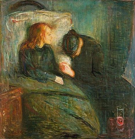 'La niña enferma' de Munch
