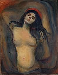 'Madonna' de Munch