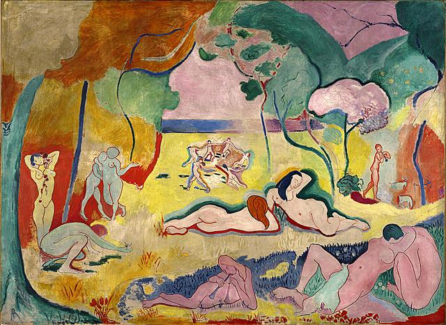 'La alegría de vivir' de Matisse