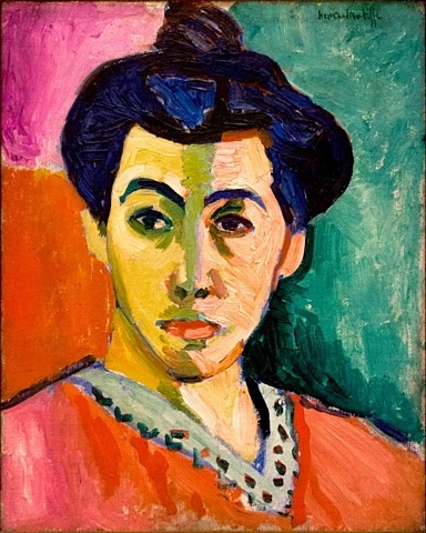 'La dama de Matisse o la raya verde' de Matisse