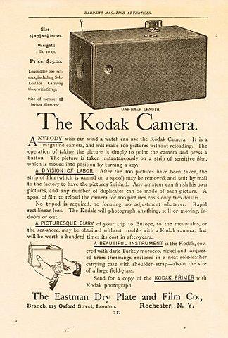 Kodak Begins its Legendary Journey