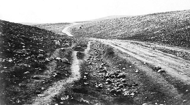 Roger Fenton & The Valley of the Shadow of Death