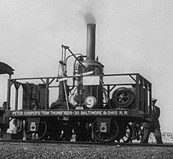 The First United Stated Railroad Begins