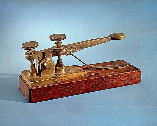 Samuel Morse Sends the First Telepgraph