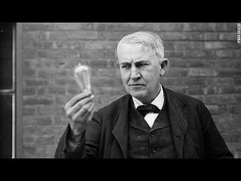 Thomas Edison Invents the Light Bulb