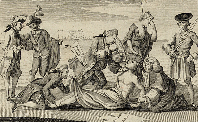 The Intolerable Acts / Coercive Acts