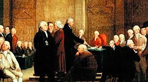 Meeting of Second Continental Congress