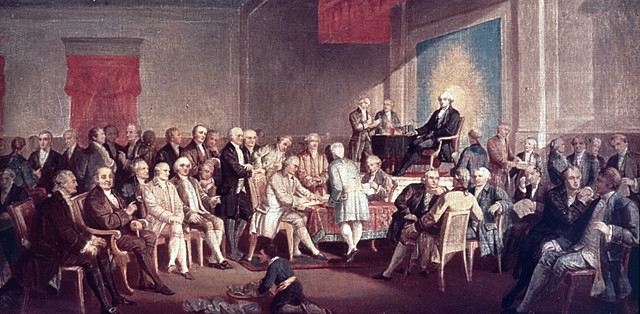 Ratification of The Constitution.