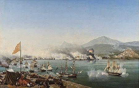 10 июня — 6 октября 1827 года, командуя кораблём «Азов», совершил переход из Кронштадта на Средиземное море.