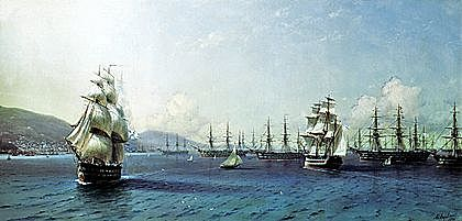 В 1832 году Лазарев стал начальником штаба Черноморского флота.