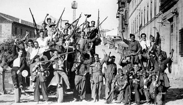 Persecución sistemática de organizaciones del Frente Popular (bando nacional)