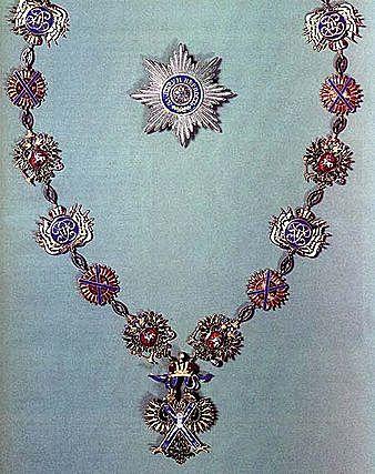 6 декабря 1850 года был награждён орденом Св. Андрея Первозванного