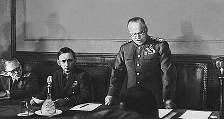 La capitulació d'Alemanya