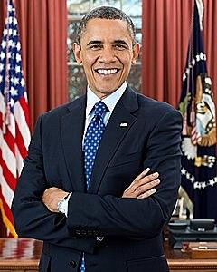 El primer president negre de Estats Units.