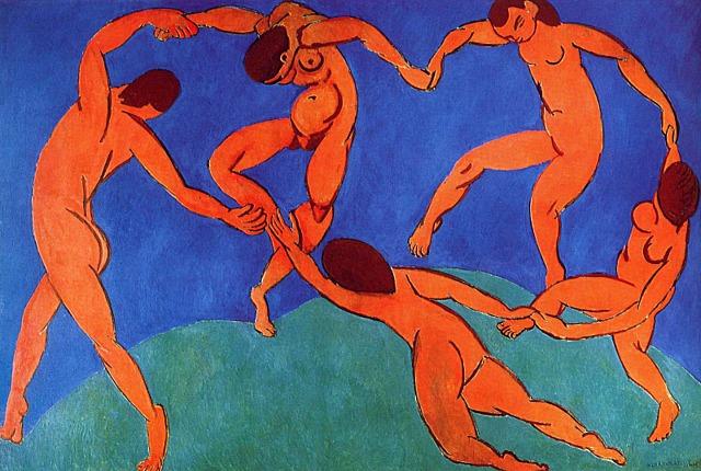 'La danza' de Matisse