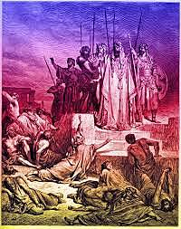 Shallum reigns over Israel