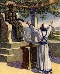 Ahaz becomes king of Judah