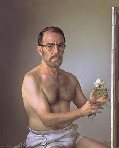 """""""Yo con una flor"""" - Eduardo naranjo"""