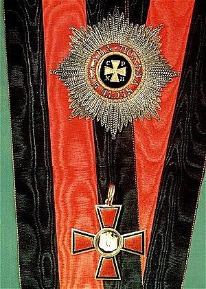В 1825 году награждён орденом Св. Владимира II степени.