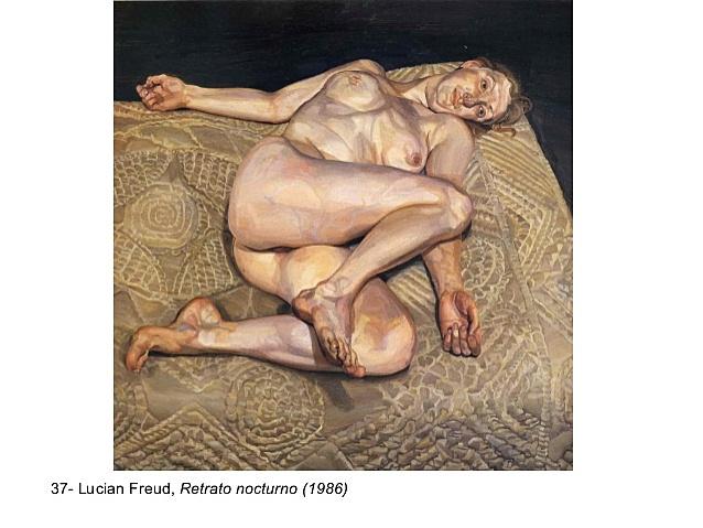 """""""Retrato nocturno"""" de Lucian Freud"""