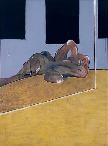 """La figura tumbada"" de Francis Bacon"