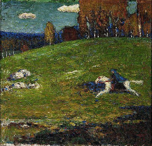 'El jinete azul' de Kandinsky