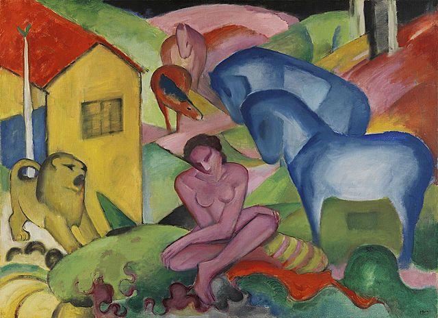 'El sueño' Franz Marc