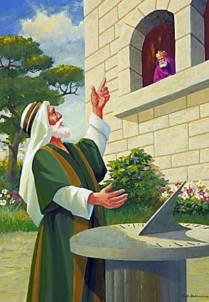 Hezekiah recovers from sickness