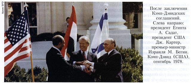 Кэмп-Дэвидские соглашения, между Египтом и Израилем