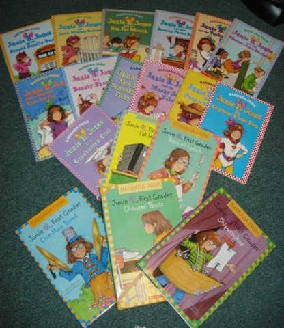 First Time Started to Read Junie B. Jones