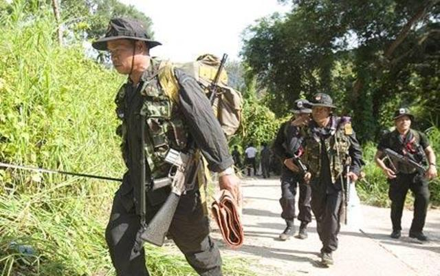 War in Cambodia and Thailand