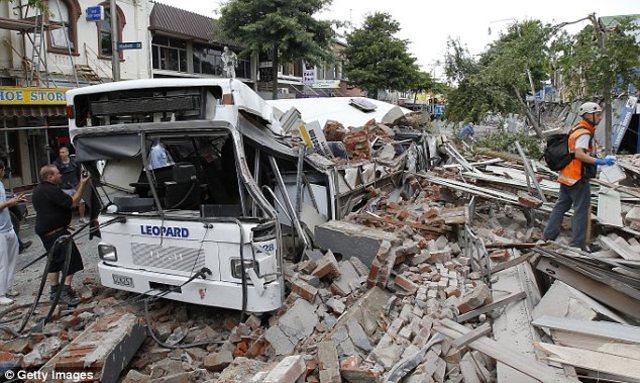 Newzeland Earthquake