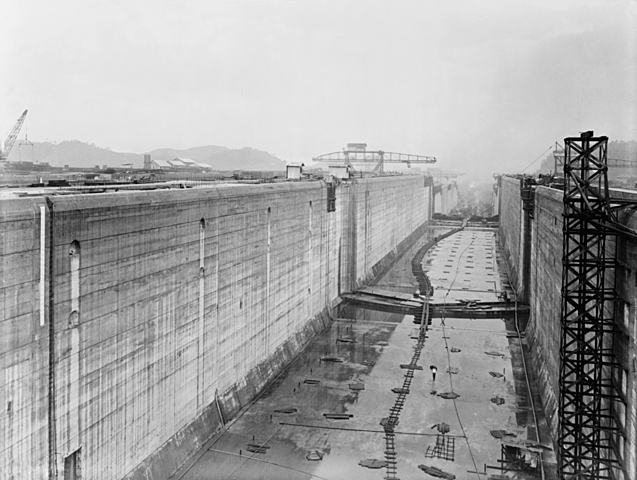 Panama Canal Construction Completed