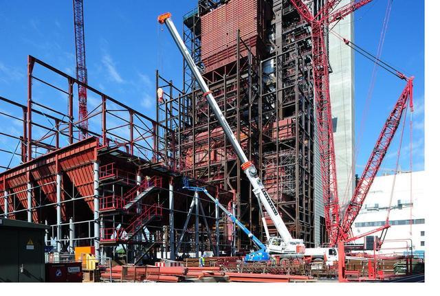 Ab Juni 2012 soll Strom produziert werden