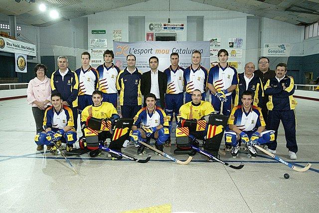 """La selecció catalana d'hoquei patins guanya el Campionat del Món """"B"""" masculí."""