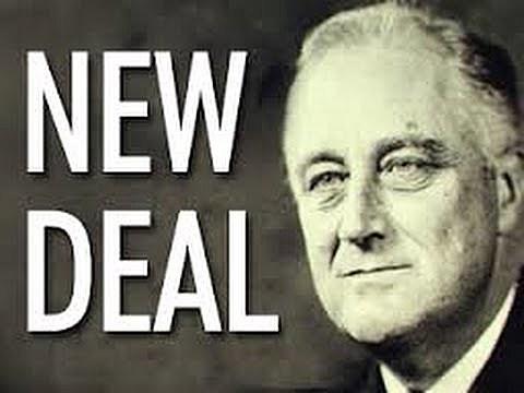 La lluita contra la crisi, el New Deal
