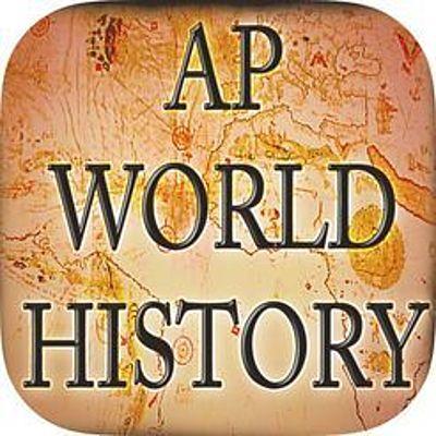 AP World History Final Project timeline