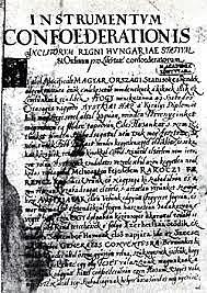 A szécsényi országgyűlés