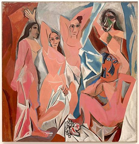 'Las señoritas de Avignon' de Picasso