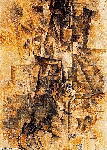 'El acordeonista' de Picasso