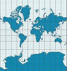 Sistema de representació cartogràfica de la Terra