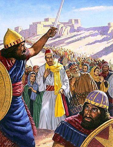 Jehoiachin becomes king of Judah