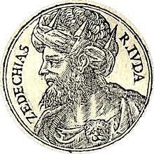 Zedekiah becomes king of Judah