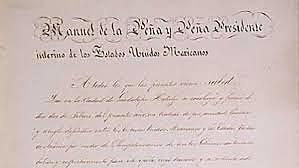 The Treaty of Guadelupe Hidalgo