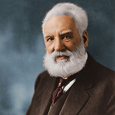 Alexander Bell invents the telephone