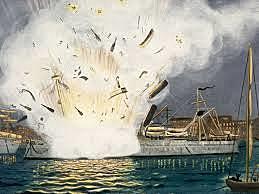 The U.S.S Maine was sunk