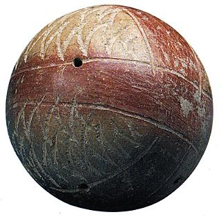 Origen del balon de Futbol